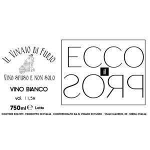 Vino Rosso Ecco-Il-Pros Vol 11,5%