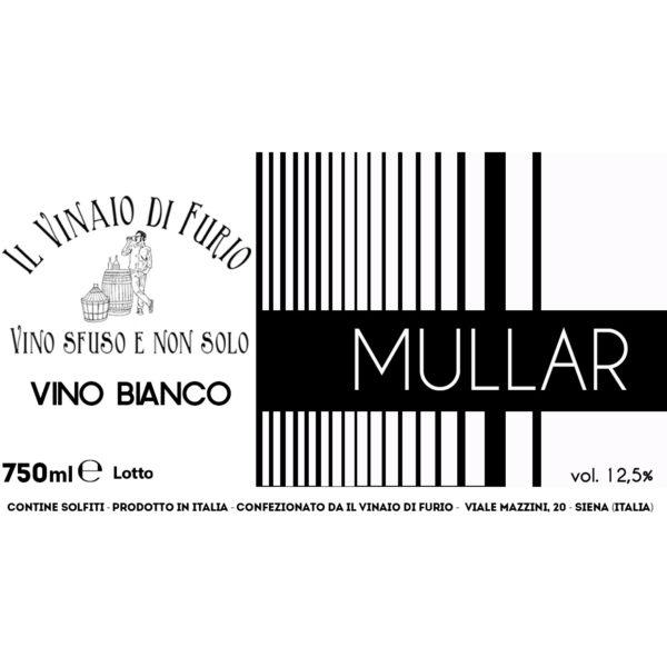 Vino Bianco Mullar Vol 12,5%