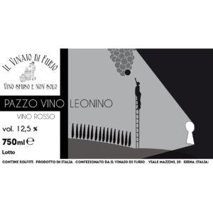 Vino Rosso Pazzo Vino Leonino Vol 12%