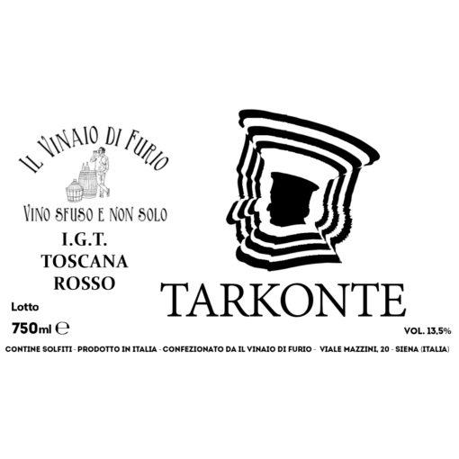 "I.G.T. TOSCANA ROSSO ""TARKONTE"" VOL 13,5%"