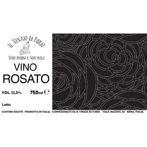 Vino Rosato Vol 11,5%