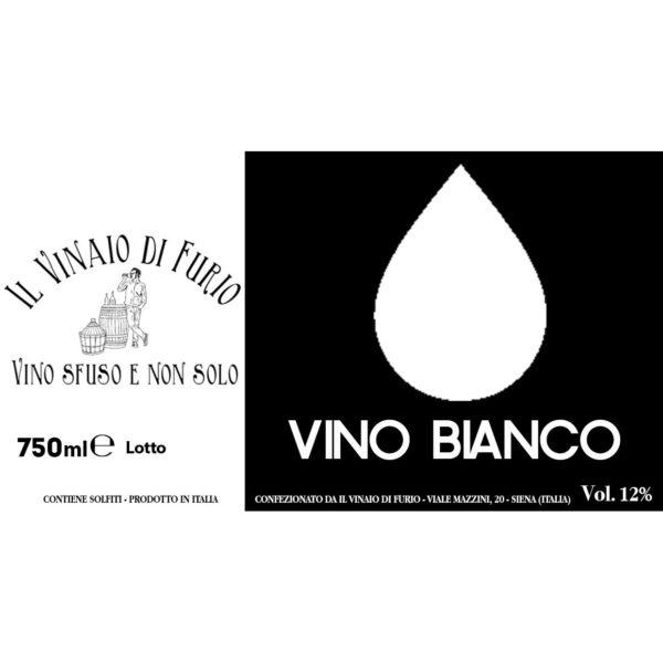 """Vino Bianco """"Il Furio Bianco"""" Vol 12%"""