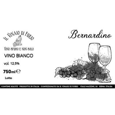 "Vino Bianco ""Bernardino"" Vol 12,5%"