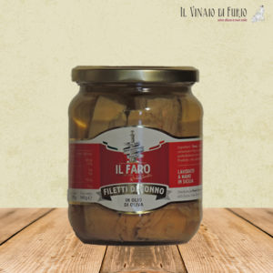 Filetti di tonno in olio di oliva 540gr