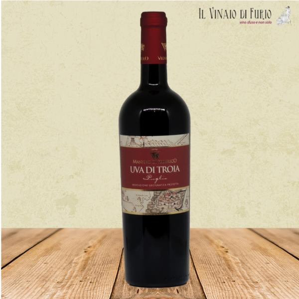 IGP Puglia Rosso -Uva di Troia- Cantina Vignuolo front