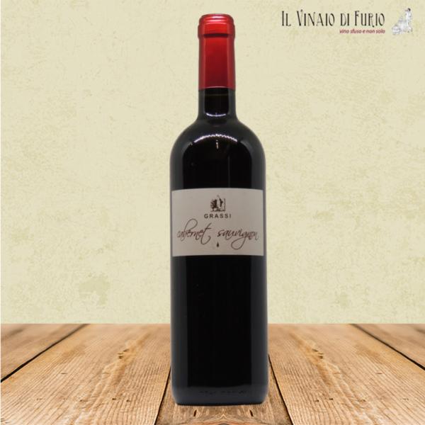 IGP Veneto Rosso -Cabernet Sauvignon- Az. Agr. Grassi front