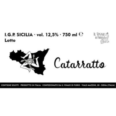 Vino Bianco Catarratto IGP Sicilia Vol 12,5%
